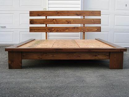 1000 id es propos de lit bois massif sur pinterest - Les plus beaux lits en bois ...