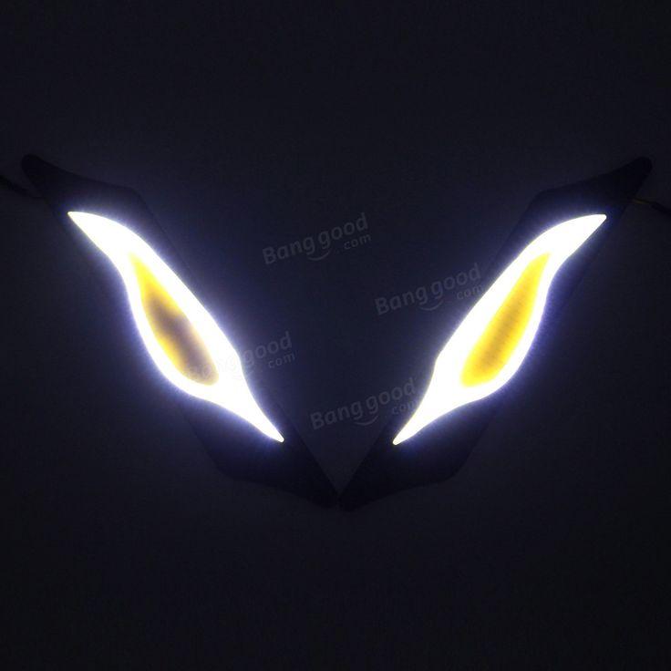 2 PCS 12V LED COB Auto DRL Nebel Fahren Tagfahrlicht Blinker Verkauf - Banggood.com