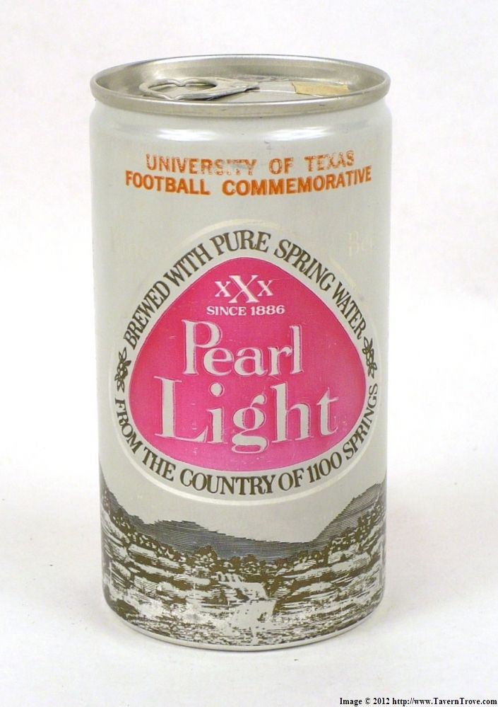 Tavern Trove : Pearl Light Beer Longhorns Schedule