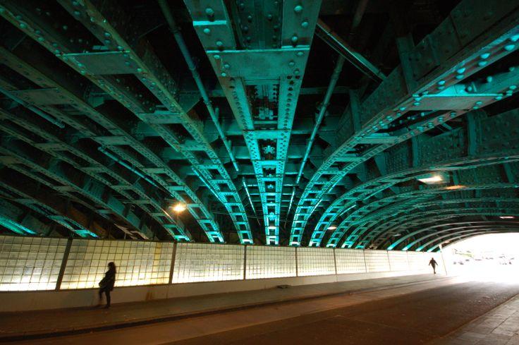 Lichtkonzept Unterführung Marzellenstraße Köln