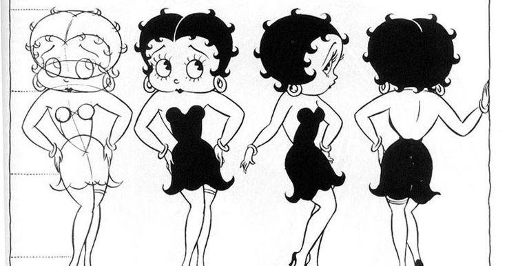 3ft Betty Boop Idees