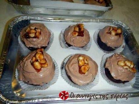 Το cupcake είναι σαν αγοραστό, αφράτο με ισορροπία στις γεύσεις. Η συνταγή είναι από τον σεφ Β. Δρίσκα.