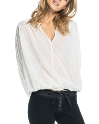 SCOTCH & SODA Semi Sheer Cotton Blouse. #scotchsoda #cloth #blouse