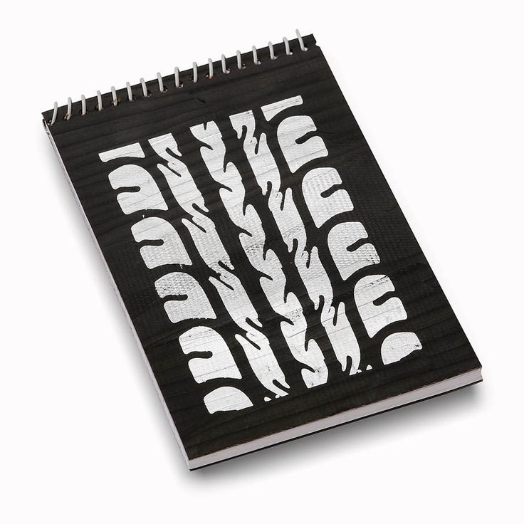 Recycled Tyre Notebook