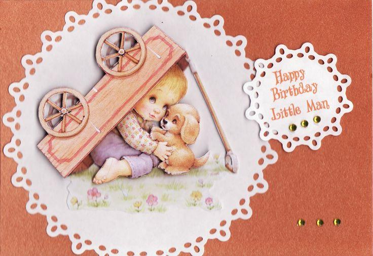 3D 'Happy Birthday Little Man' Card (by Tassie Scrapangel)