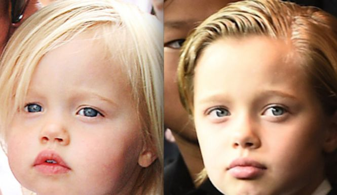 """Angelina And Brad Support Their 8 Year Old Daughter's Decision To Be Called """"John"""". Angelina Jolie and Brad Pitt's 8-year-old daughter Shiloh has been very"""
