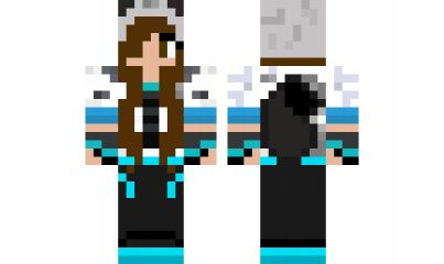 minecraft skin Wolf-girl-with-brown-eyes-2 Find it with our new Android Minecraft Skins App: https://play.google.com/store/apps/details?id=studio.kactus.minecraftskinpicker