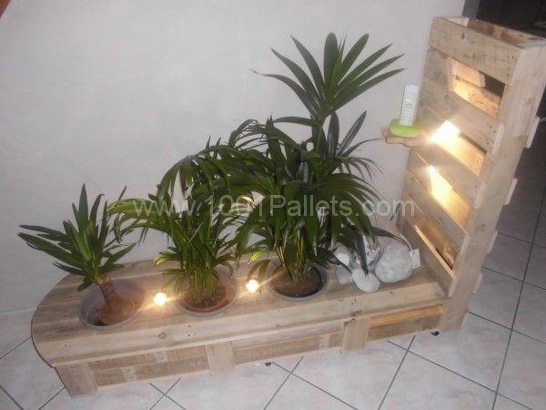 Pallet vegetal furniture | 1001 Pallets