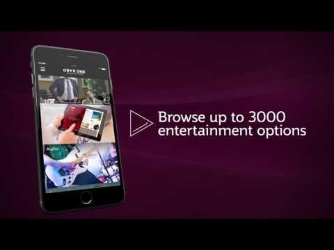 Introducing the Oryx One Smartphone App - Qatar Airways In-Flight Entertainment - YouTube