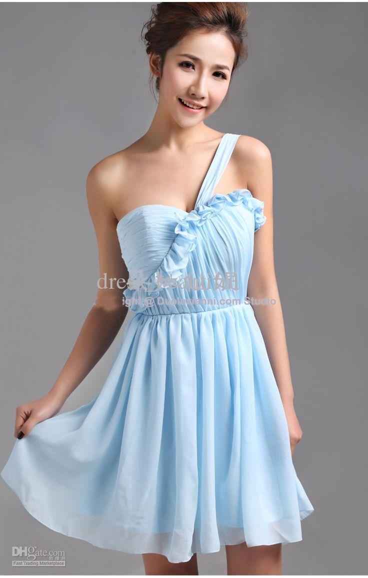 19 best images about a wedding dresses on pinterest for Short light blue wedding dress