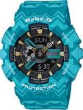 Casio Ladies Baby-G Tribal Design Watch BA-110TP-2A (BA110TP2A) - Watch Centre