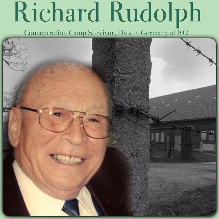 NEWS UPDATE: Richard Rudolph, Concentration Camp Survivor, Dies in Germany at 102 - - - - - Richard Rudolph endured over 19 years of imprisonment under the Nazi and Communist regimes for his religious beliefs. To see the whole story, go to JW.org > Newsroom > Latest News NEWS UPDATE
