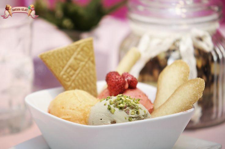 I gelati di Fantasia Gelati! W il gelato artigianale! #napoli #gelatoday