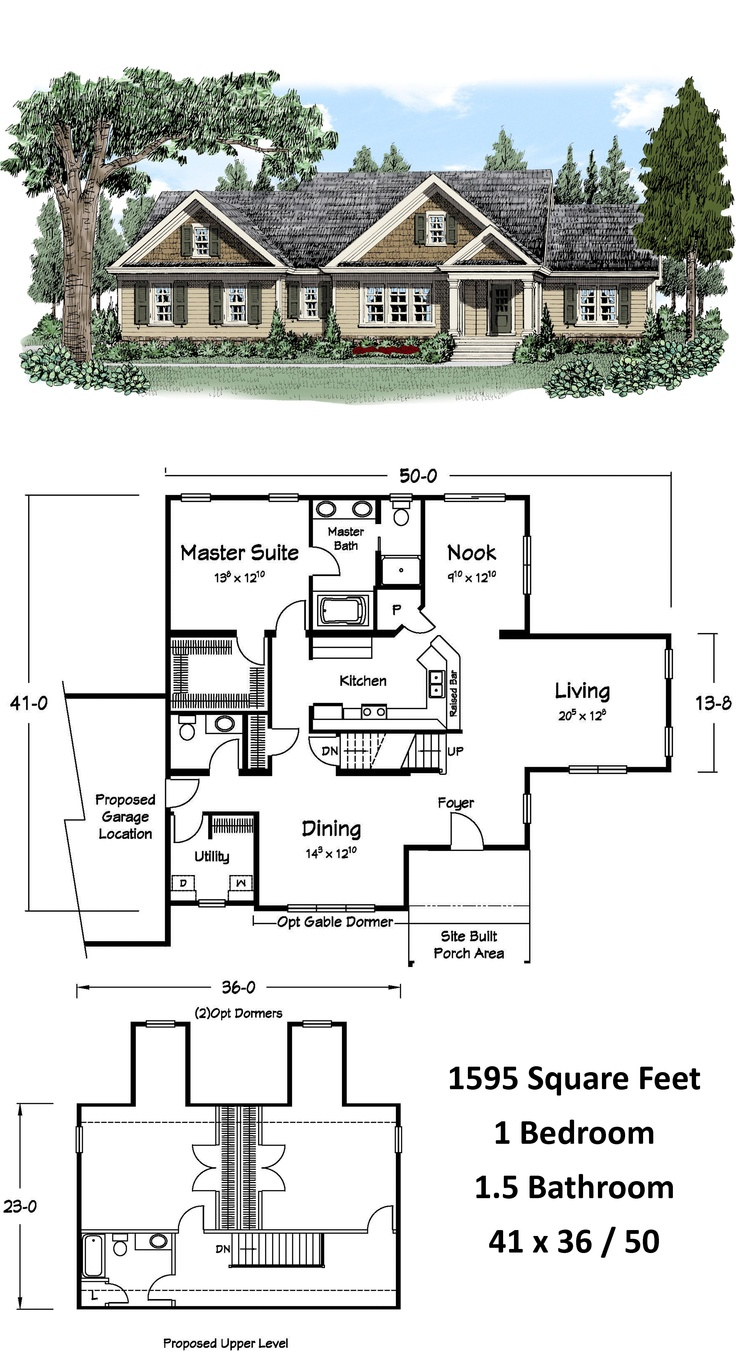13 best Two-Story Homes images on Pinterest | Floor plans, House ...