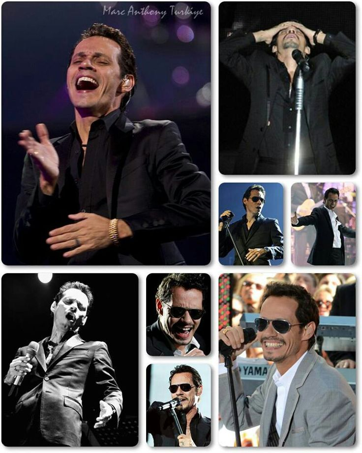 Marc Anthony- omg just started listening to his music and SO love it, he's amazing. Vivir mi vida!