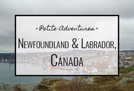 Newfoundland & Labrador, Canada [PetiteAdventures.org]   Travel | Wanderlust | Travel Blog | Travel Blogger | Explore | Adventure | North America | St. John's | Maritimes