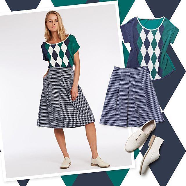 This season's trend? Argayle style! #Pennyblack #season #style #fashion #mood #ootd #instadaily #newin #Newseason #newcolours