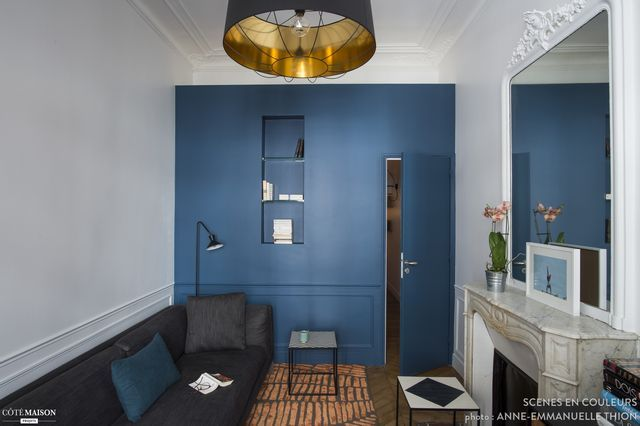 A 41m² redecorated with style
