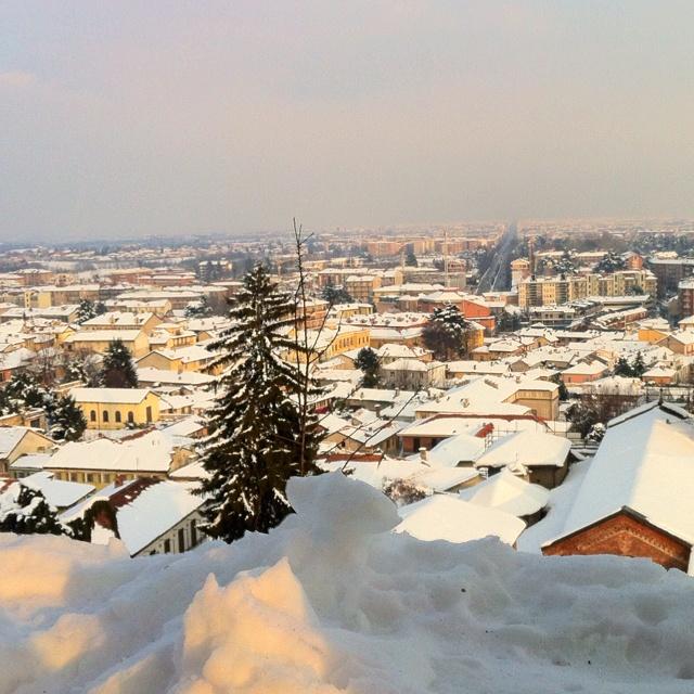 #torino sotto la #neve