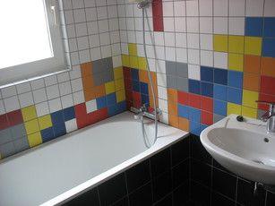 Tetris bathroom