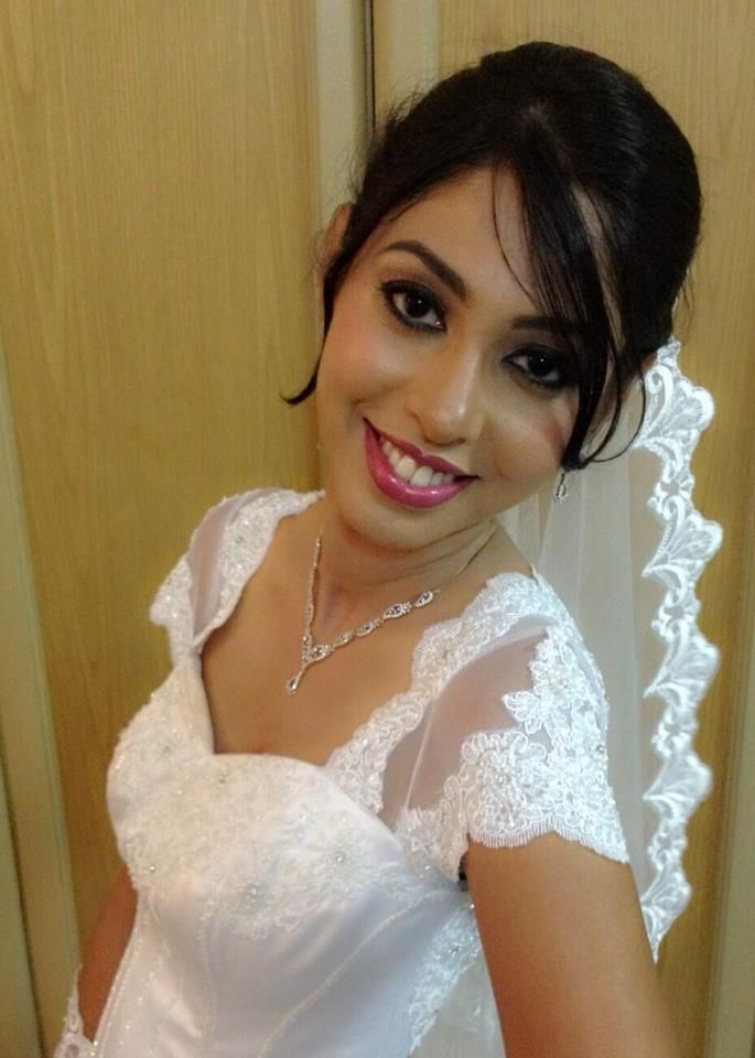 #Indian #christian #bride #bridal #hairstyle | Indian ...