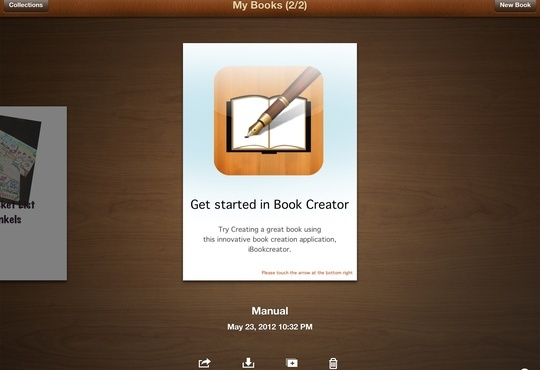How to use Book Creator on an iPad