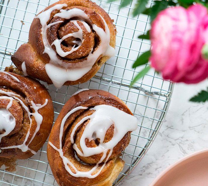 De er intet mindre end de bedste kanelsnegle - Fyldt med lækker smag og snask og et kæmpe hit på morgenbordet - opskriften får du her