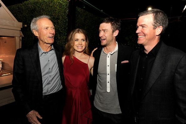 Amy with Clint Eastwood at the premier of Trouble With The Curve