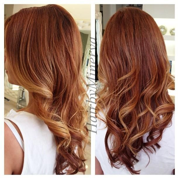 copper gold ombre hair pinterest copper ombre and gold. Black Bedroom Furniture Sets. Home Design Ideas