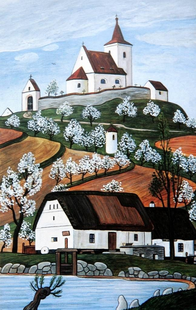 Josef Lada, Czech folk artist