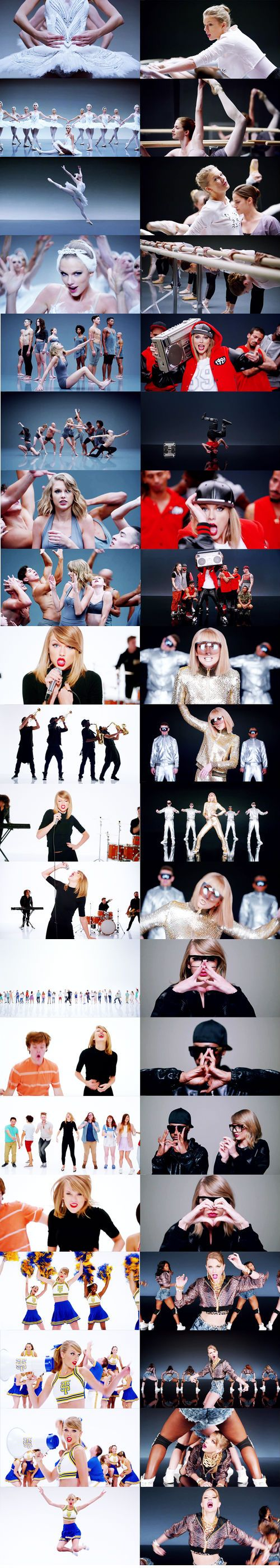 Taylor Swift - Shake It Off (1989) ♥ music video