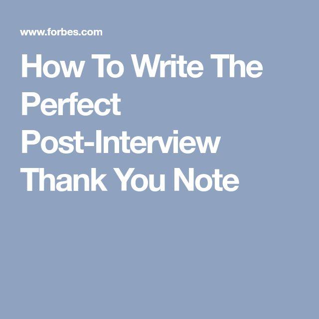 25+ unieke ideeën over Interview thank you notes op Pinterest - Cv - follow up letter for job offer