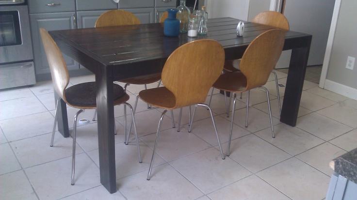 Modern Farmhouse dining tableModern Farmhouse, Farmhouse Dining Tables