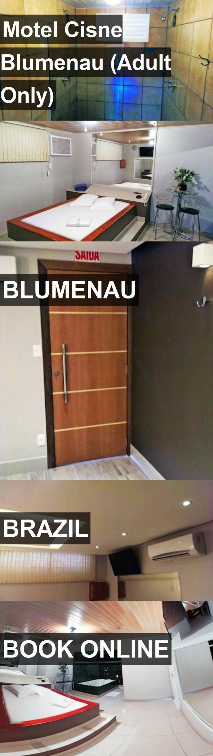Hotel Motel Cisne Blumenau (Adult Only) in Blumenau, Brazil. For more information, photos, reviews and best prices please follow the link. #Brazil #Blumenau #travel #vacation #hotel