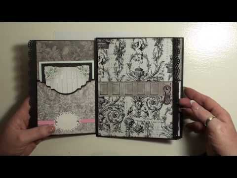 Part 1 Tutorial Salvage District Mini Album - YouTube
