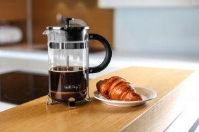 French press / Zaparzacz do kawy szklany VIALLI DESIGN AMO 1 l