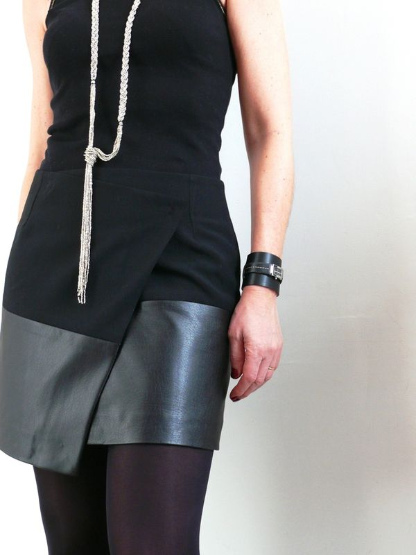 DIY Asymetric Skirt - FREE Sewing Tutorial