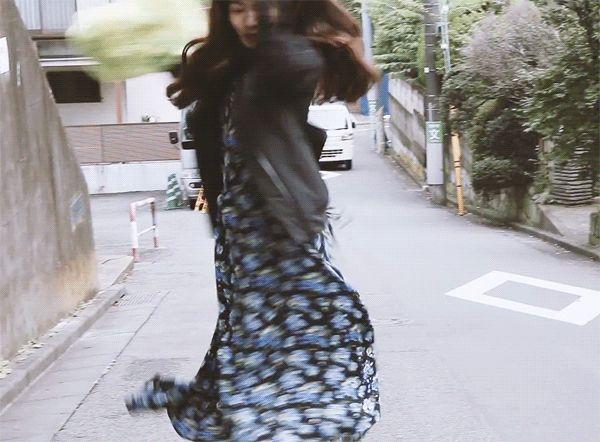 soyaben: 小松菜奈のオールドスイートスタイル : NYLONJAPAN11月号表紙撮影オフショット