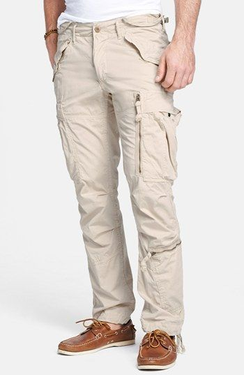 Polo Ralph Lauren 'M45' Slim Fit Cargo Pants available at #Nordstrom