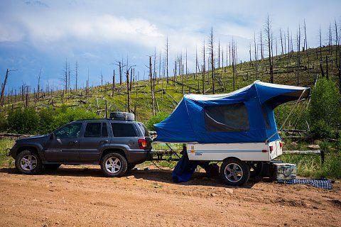 For Sale: - Custom Off Road Coleman Colorado Tent Trailer ...