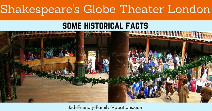 Globe Theater London - Shakespeare's Theater is a historical theater that is still in operation! Definitely a must-see in London!