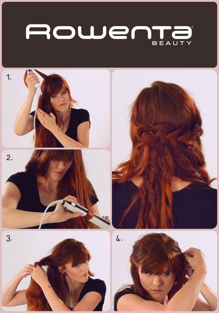 Romantyczny splot  Krok 1. Unieś włosy od nasady przy pomocy VOLUM'24 Krok 2. Zrób luźne fale, używając prostownicy RESPECTISSIM 7/7 Krok 3. Zaczynając przy skroni, zapleć warkocz  Krok 4. Podepnij warkocz za przeciwległym uchem #Respectissim #Rowenta #RowentaPolska #fryzura #włosy #hair #hairstyle #hotd #fryzjer #wlosomania #wlosomaniaczka #wlosomaniaczki #hairmania #hairgoals #haircolor #curls #waves #straightner #volum #wavy #straight #easy #tutorial #stepbystep #braid