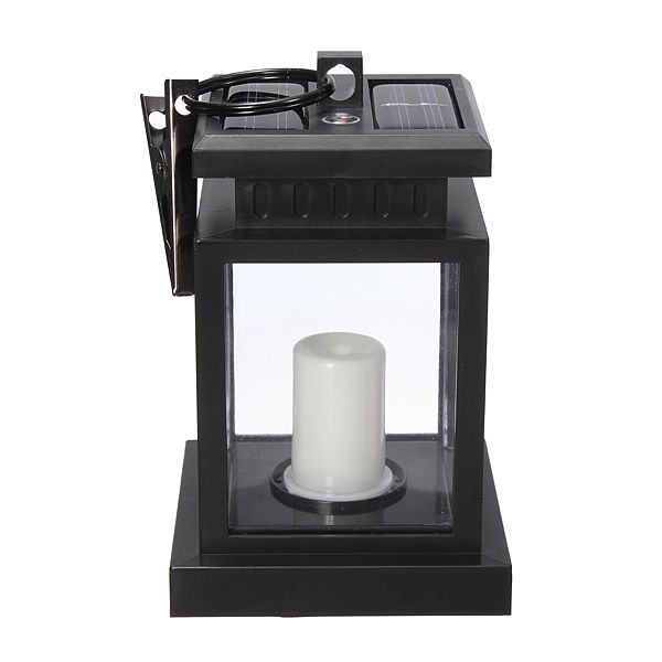 LED Auto Sensor Outdoor Candle Solar Light Hanging Lantern Light