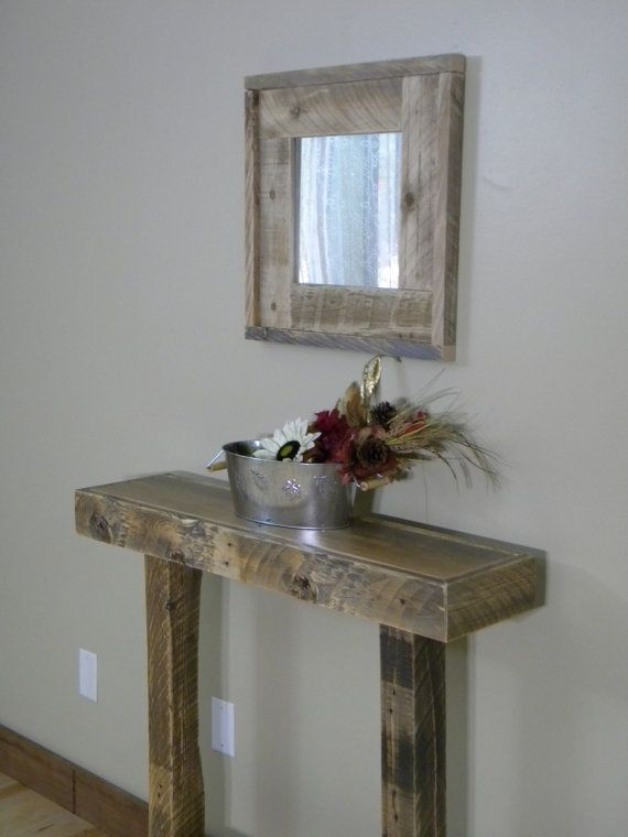 Wood Entry Table best 25+ narrow entry table ideas on pinterest | foyer table decor