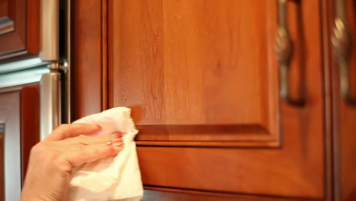 cleaning wood cabinets kitchen cleaning tips staining cabinets