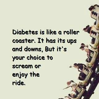 """My girls says """"that's me, I enjoy the ride"""" I love that she is so positive about her diagnosis!!"""