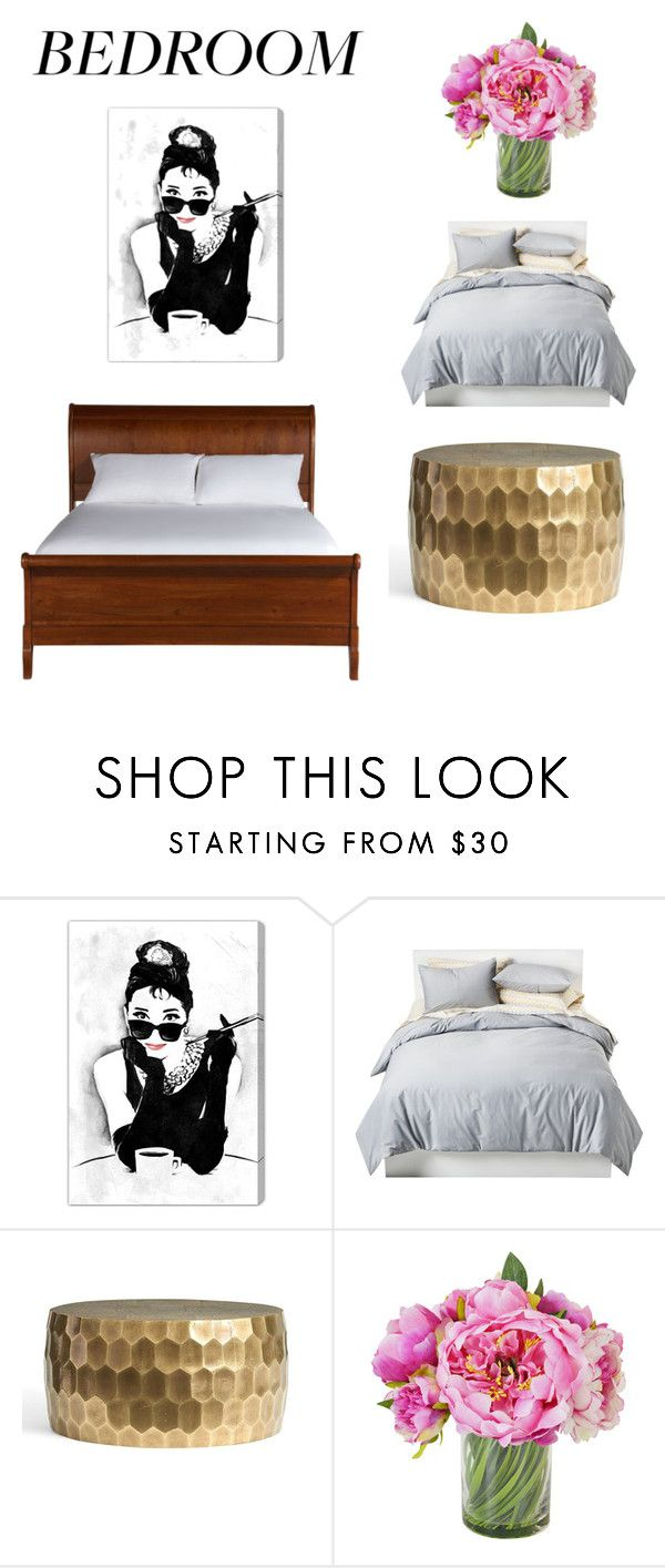 """""""Untitled #198"""" by frupapp on Polyvore featuring interior, interiors, interior design, home, home decor, interior decorating, Oliver Gal Artist Co., Room Essentials, Pottery Barn and Ethan Allen"""