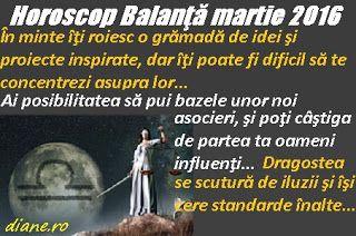 diane.ro: Horoscop Balanţă martie 2016