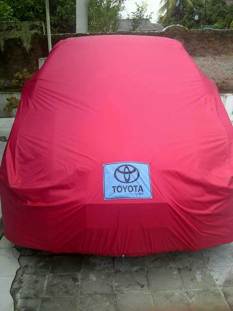 Cover Mobil Toyota Red, Body fit, Elegan, cocok untuk Toyota anda. SMS/WA/CALL: 082333400200 BBM : 2a9bacab
