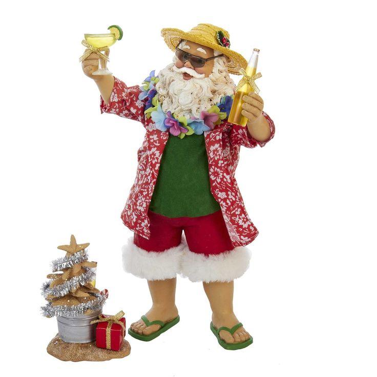 Kurt Adler 10-inch Beach Santa
